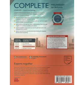 Complete Preliminary for Schools B1 Student`s Book