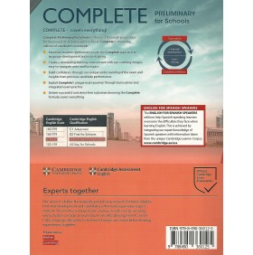 Complete Preliminary for Schools B1 Workbook