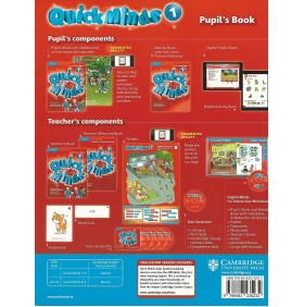 Quick Minds Level 1 Student´s Book