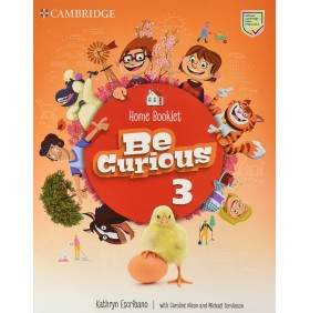 Be Curious Level 3 Activity Book + Home Booklet